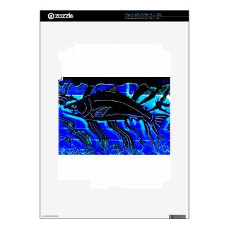 Blackened Salmon JPG iPad 2 Skin