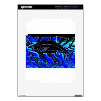 Blackened Salmon JPG Decal For iPad 3
