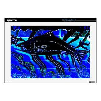 """Blackened Salmon JPG Skins For 17"""" Laptops"""
