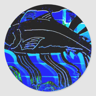 Blackened Salmon JPG Stickers
