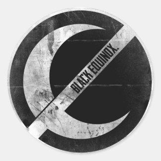 BlackEquinox Logo Round Sticker