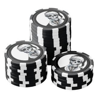 Blackest Ever Black Xmas Poker Chips