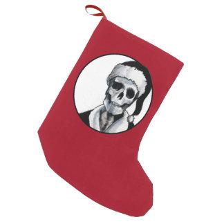 Blackest Ever Black Xmas Small Christmas Stocking