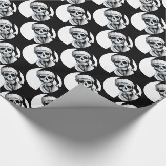 Blackest Ever Black Xmas Wrapping Paper