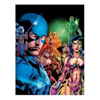 Blackest Night Comic Panel 2 - Color Postcard