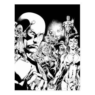 Blackest Night Comic Panel 2 Postcard