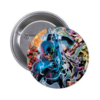 Blackest Night Comic Panel - Color Pinback Button