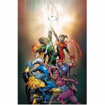 dc comics new 52, batman, robin, green lantern, blackest night, arch enemy, villain, super hero, comic artwork, Photo Sculpture with custom graphic design