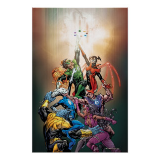 Blackest Night Cover Poster