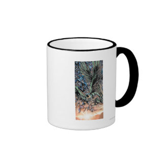 Blackest Night Group Painting - Color Ringer Coffee Mug