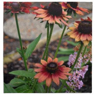Blackeye coloreado otoño Susans Servilletas
