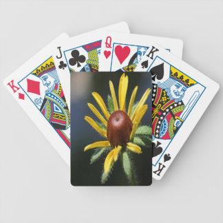Blackeyed Susan Bicycle Playing Cards