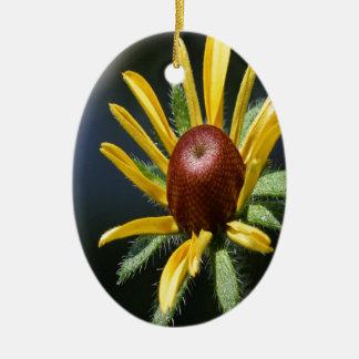 Blackeyed Susan Ceramic Ornament