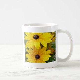 Blackeyed Susan Rudbeckia hirta f. homochroma Coffee Mug