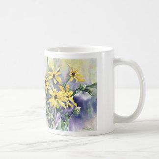 Blackeyed Susan Watercolor Mug