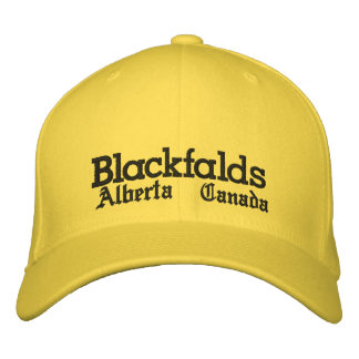 Blackfalds, Alberta, gorra Gorras De Béisbol Bordadas