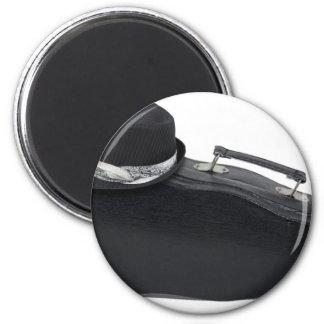 BlackFedoraMusicCase102811 Imán Redondo 5 Cm