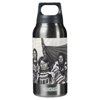 Blackfeet Indian Ladies Vintage Stereoview Insulated Water Bottle