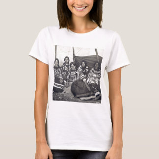 Blackfeet Indian Ladies Vintage Stereoview T-Shirt