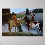 native american, blackfeet, tribe, horseback, cut