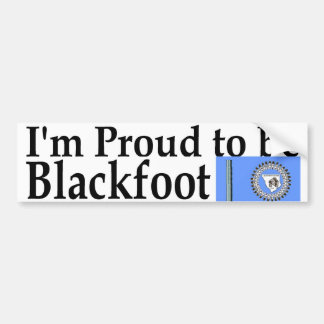 blackfoot bumper sticker