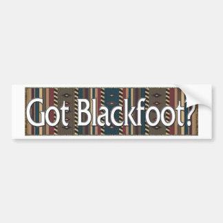 Blackfoot Pegatina De Parachoque
