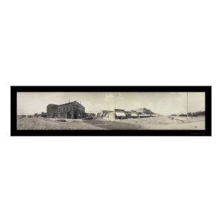 Blackfoot, foto 1909 de la identificación impresiones