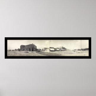 Blackfoot, ID Photo 1909 Poster