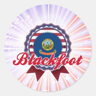 Blackfoot, ID Sticker
