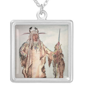 Blackfoot Indian Pe-Toh-Pee-Kiss, The Eagle Ribs Necklaces