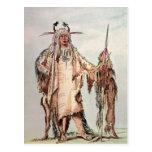 Blackfoot Indian Pe-Toh-Pee-Kiss, The Eagle Ribs Postcards