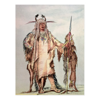 Blackfoot Indian Pe-Toh-Pee-Kiss, The Eagle Ribs Postcard