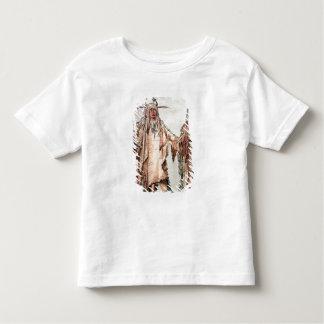 Blackfoot Indian Pe-Toh-Pee-Kiss, The Eagle Ribs T-shirt
