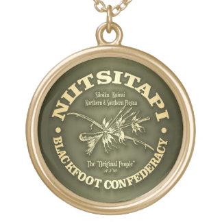 Blackfoot (Niitsitapi) Gold Plated Necklace