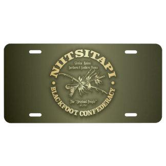 Blackfoot (Niitsitapi) License Plate