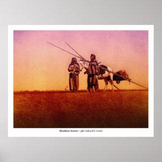 Blackfoot Travois Poster