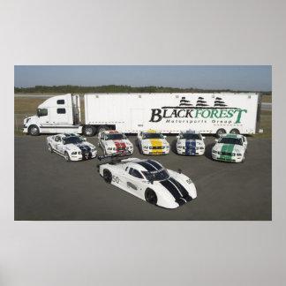 Blackforest Motorsports Poster