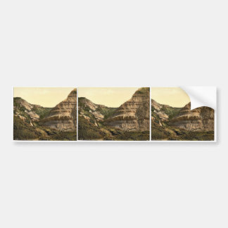 Blackgang Chine, Isle of Wight, England rare Photo Bumper Sticker