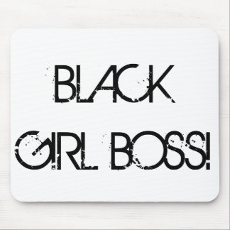 BlackGirlBoss Mousepad