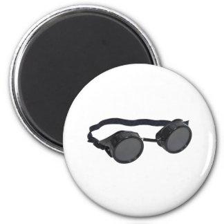 BlackGoggles073109 2 Inch Round Magnet
