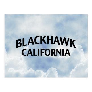 Blackhawk California Postcard