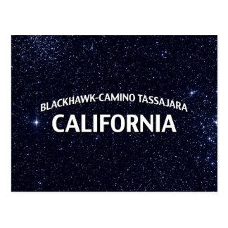 Blackhawk-Camino Tassajara California Postcard