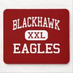 BlackHawk - Eagles - joven - soporte Morris Alfombrillas De Raton