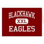 BlackHawk - Eagles - joven - soporte Morris Felicitaciones