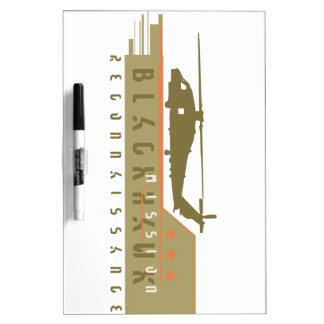 Blackhawk Helicopter Recon Team Dry Erase Whiteboards