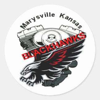 Blackhawk MC Sticker
