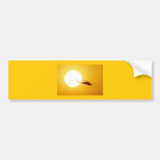 BLACKHAWK SUNSET BUMPER STICKER