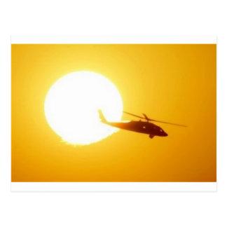 BLACKHAWK SUNSET POSTCARD