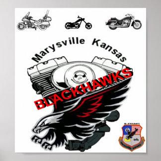 Blackhawks MC Inc. Poster