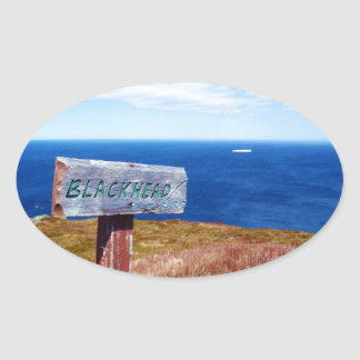 Blackhead Oval Sticker